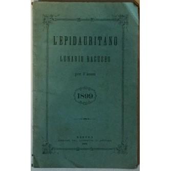 L'EPIDAURITANO LUNARIO RAGUSEO PER L'ANNO 1899