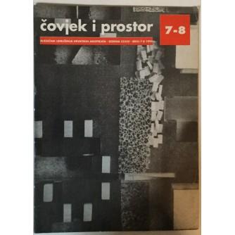 ČOVJEK I PROSTOR, MJESEČNIK UDRUŽENJA HRVATSKIH ARHITEKATA , ČASOPIS BROJ 7-8. GODINA XXXXI, 1994.