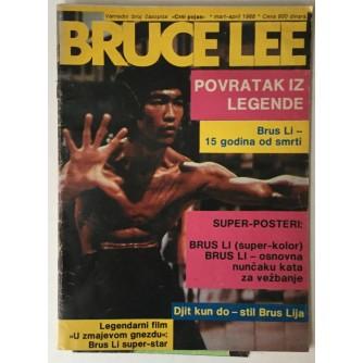 VANREDNI BROJ ČASOPISA CRNI POJAS (MART/APRIL 1988.): BRUCE LEE