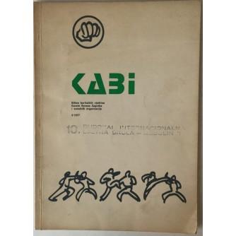 KABI: BILTEN BORILAČKIH VJEŠTINA KARATE SAVEZA ZAGREBA I SURADNIH ORGANIZACIJA (2/1977.)