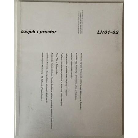 ČASOPIS ČOVJEK I PROSTOR, ARHITEKTURA, BROJ 1-2 GODINA 2004.