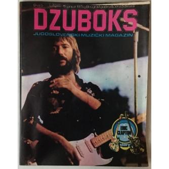 DŽUBOKS, JUGOSLOVENSKI MUZIČKI MAGAZIN BR.5/1975.