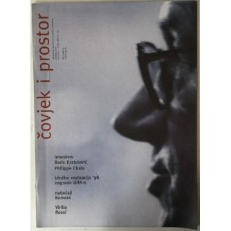 ČASOPIS ČOVJEK I PROSTOR, ARHITEKTURA, BROJ 5-8 GODINA 1999.