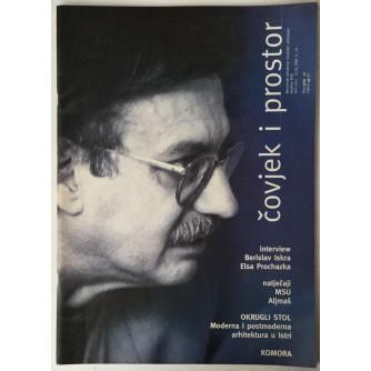ČASOPIS ČOVJEK I PROSTOR, ARHITEKTURA, BROJ 9-10 GODINA 1999.