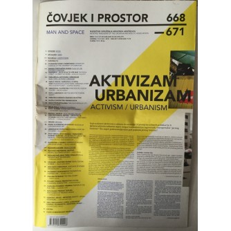 ČASOPIS ČOVJEK I PROSTOR , ARHITEKTURA , BROJ 1-4 GODINA 2010.