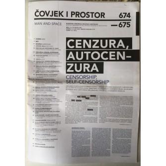 ČASOPIS ČOVJEK I PROSTOR , ARHITEKTURA , BROJ 7-8 GODINA 2010.