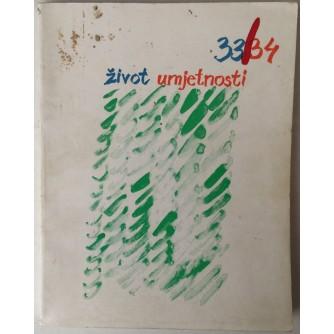ŽIVOT UMJETNOSTI BR. 33-34, GOD. 1982.