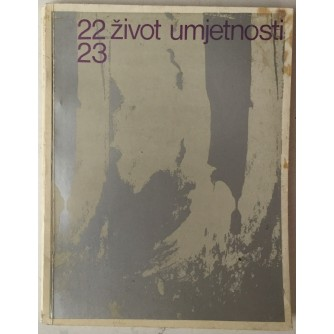 ŽIVOT UMJETNOSTI BR. 22-23, GOD. 1975.
