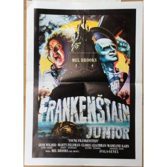 FRANKENŠTAJN JUNIOR (YOUNG FRANKENSTEIN), MEL BROOKS, STARI PLAKAT