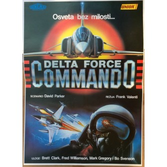 DELTA FORCE COMMANDO, STARI PLAKAT