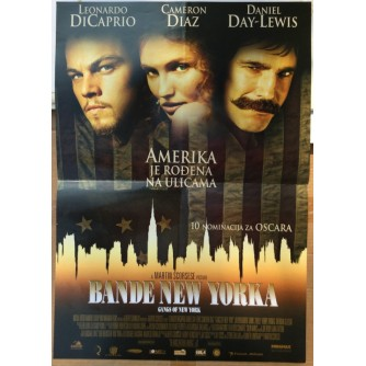 BANDE NEW YORKA (GANGS OF NEW YORK), LEONARDO DICAPRIO, CAMERON DIAZ, DANIEL DAY-LEWIS, MARTIN SCORSESE