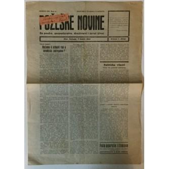 POŽEŠKE NOVINE GOD. XIII. (1936.) BR. 24, TJEDNIK