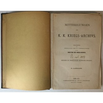 ÖSTERREICHS KRIEGE SEIT 1495.