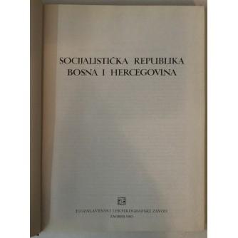 SOCIJALISTIČKA REPUBLIKA BOSNA I HERCEGOVINA