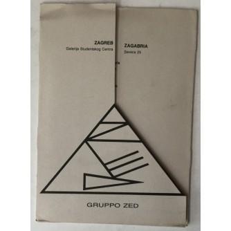 Gruppo Zed u Galerijistudentskog centra (katalog)