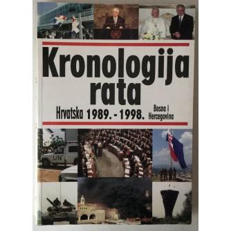 Miroslav Krmpotić, Ivo Tomljanović, Emil Makovička: Kronologija rata, agresija na Hrvatsku i BiH (1989.-1998.)