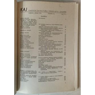 Časopis Kaj, god. 1974., br. 5-6 (Turopolje)