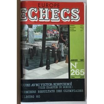 Europe Echecs, god. 1981. br. 265-276
