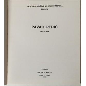 Pavao Perić 1907. - 1978. (katalog)