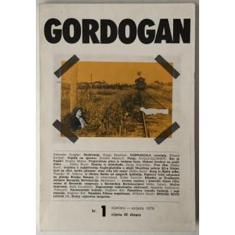 Gordogan, Časopis za književnost i sva kulturna pitanja, godina 1. br. 1, 1979.
