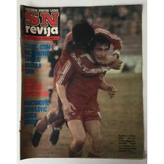 SN revija, Ilustrirani sportski tjednik broj 235 godina 1981.