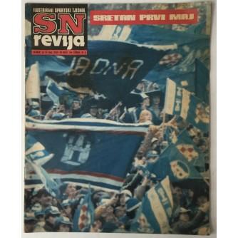SN revija, Ilustrirani sportski tjednik broj 290 godina 1982.