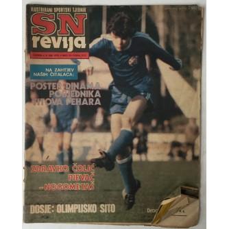 SN revija, Ilustrirani sportski tjednik broj 191 godina 1980.