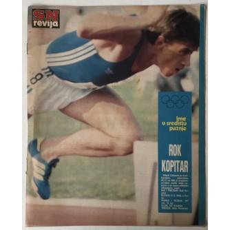 SN revija, Ilustrirani sportski tjednik broj 192 godina 1980.