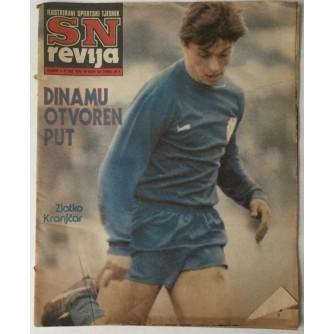 SN revija, Ilustrirani sportski tjednik broj 282 godina 1982.