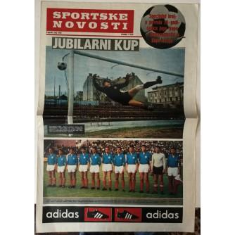 Sportske novosti specijalni broj u povodu 20 - godišnjice Jugo - kupa - Reprezentacija u Kupu nacija, maj 1967.