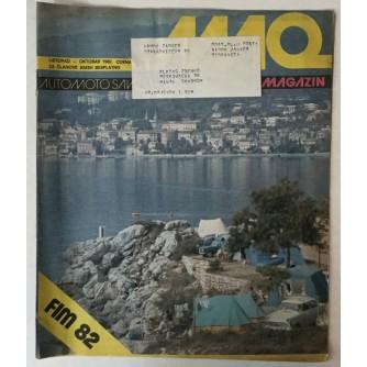 Auto-moto magazin broj 10 godina 1982.