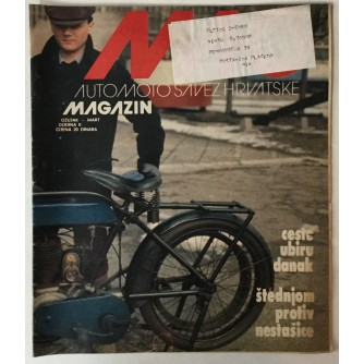 Auto-moto magazin broj 3 godina 1981.