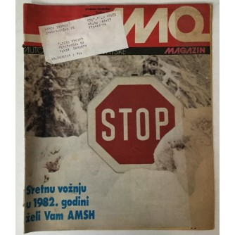 Auto-moto magazin broj 12 godina 1981.