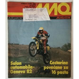 Auto-moto magazin broj 4 godina 1982.