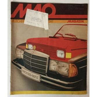 Auto-moto magazin broj 12 godina 1982.