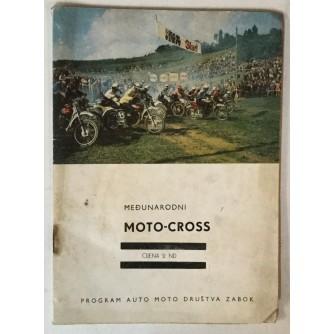 Nagrada Hrvatske, Veliki međunarodni Moto-Cross, Zabok 12. V. 1968. godine