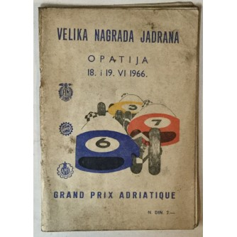 Velika nagrada Jardana, Opatija 18.-19. VI: 1966.
