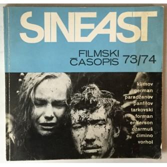 Sineast filmski časopis br. 73/74 god. 1987.
