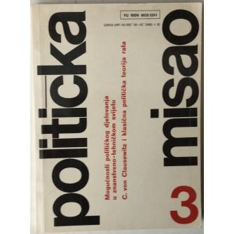 Politička misao godina 1985. broj 3