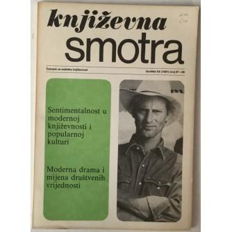 Književna smotra broj 67-68 god. 1987.