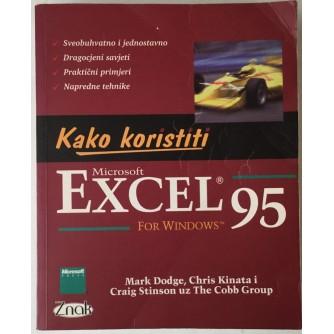 Mark Dodge, Chris Kinata, Craig Stinson, The Cobb Group: Kako koristiti Microsoft Excel for Windows 95