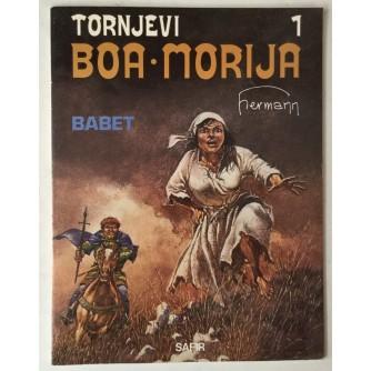 Huppen Hermann: Tornjevi Boa-Morija 1, Babet