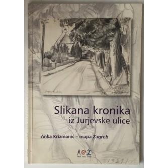 Željka Kolveshi: Slikana kronika iz Jurjevske ulice, Anka Krizmanić - mapa Zagreba (katalog)