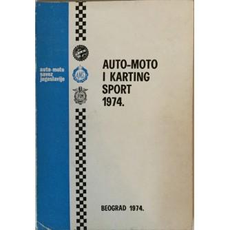 AUTO-MOTO I KARTING SPORT 1974.