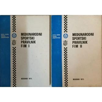 MEĐUNARODNI SPORTSKI PRAVILNIK FIM (I. i II.)