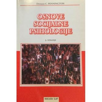 DONALD C. PENNINGTON : OSNOVE SOCIJALNE PSIHOLOGIJE