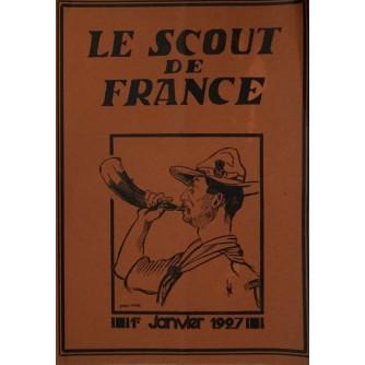 LE SCOUT DE FRANCE - Janvier 1927.