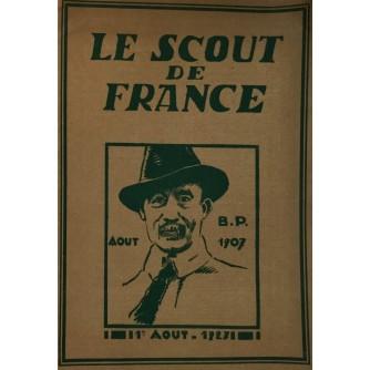 LE SCOUT DE FRANCE - Aout 1907.