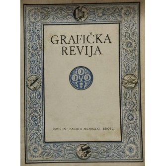 GRAFIČKA REVIJA - MART, APRIL 1931.