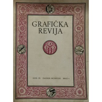 GRAFIČKA REVIJA - JULI, AUGUST 1931.